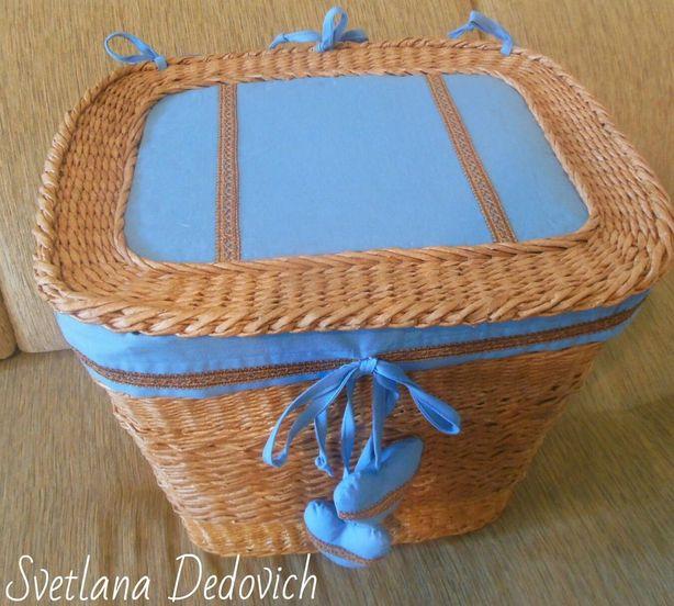 Плетеный короб Светланы Дедович. Фото из архива мастера.