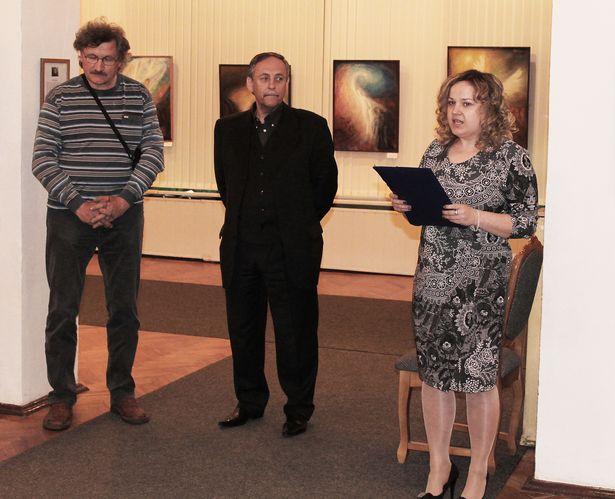 Леонид Гришук (в центре) с другом – художником Михаилом Нудновым.