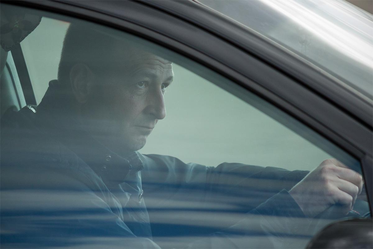 Александр и его Ford Focus в ожидании старта