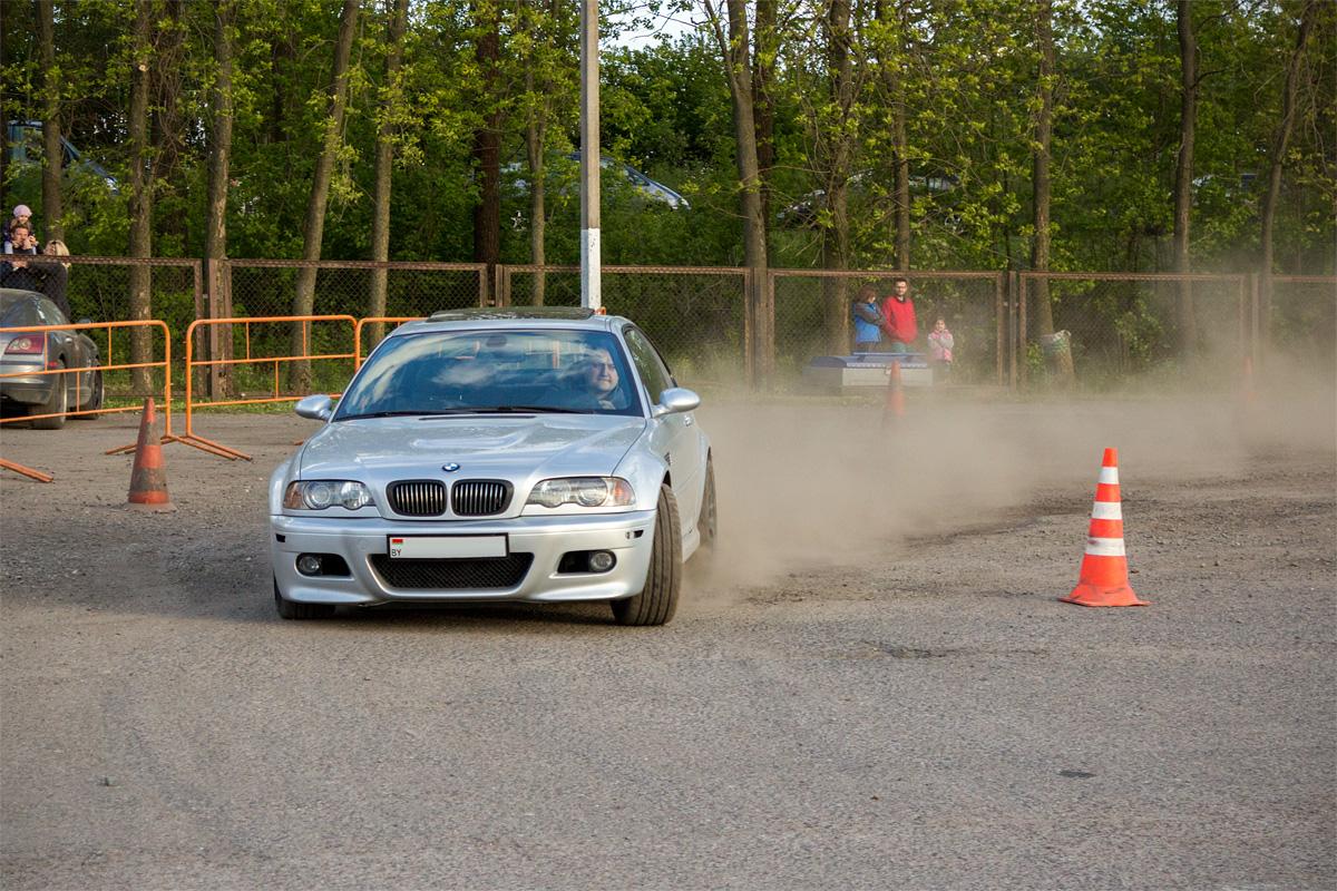 Сергей на BMW M3 – любимчик многих зрителей и завсегдатай соревнований
