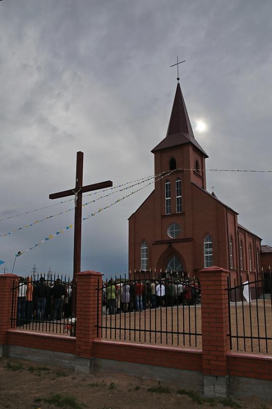 Открытие нового католического храма в Барановичах