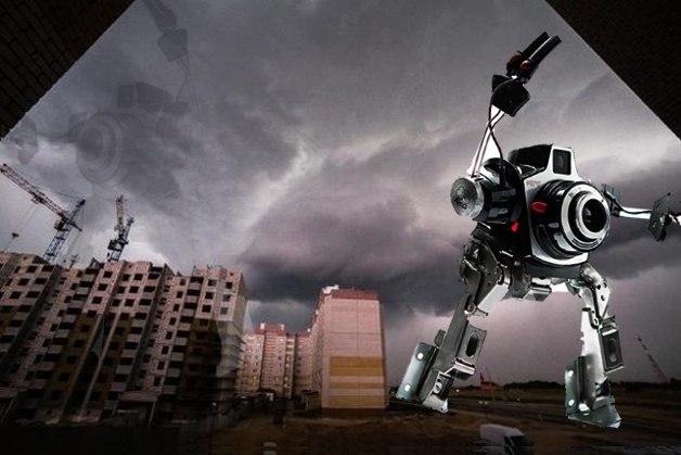 Еще и роботы вмешались. Фото:http://vk.com/podslyshano_baranovichi  @Александр Тристень
