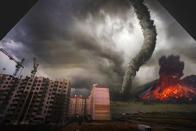 И вулкан извергался. Фото:http://vk.com/podslyshano_baranovichi  @Александр Тристень