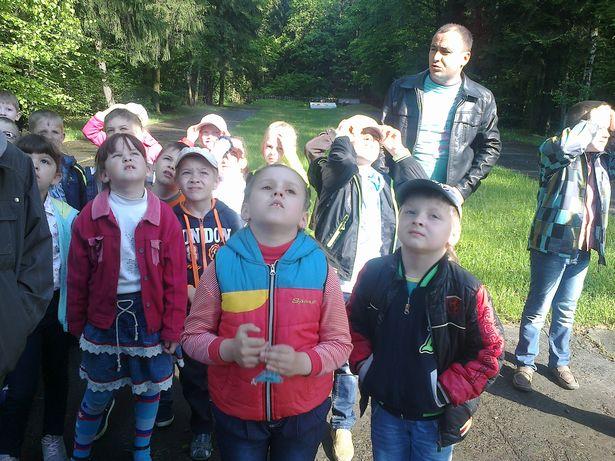 Юные гимназисты посетили урочище Гай.