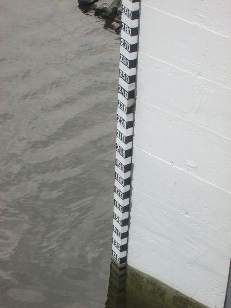 Уровень воды в водоеме по состоянию на 24 мая. Фото: Татьяна НЕКРАШЕВИЧ
