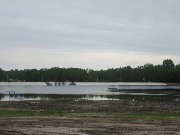 Вода не пришла еще к границам пляжной зоны. Фото: Татьяна НЕКРАШЕВИЧ