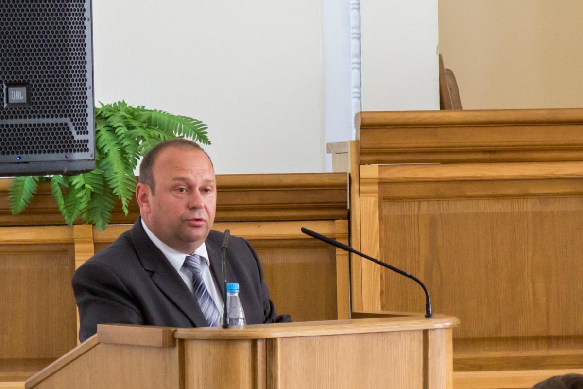 Со словами напутствия к выпускникам обратился председатель Барановичского горисполкома Юрий Громаковский