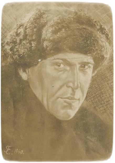 Язэп Вількоўшчык. Мастак Г. Саўчук. 1940 год