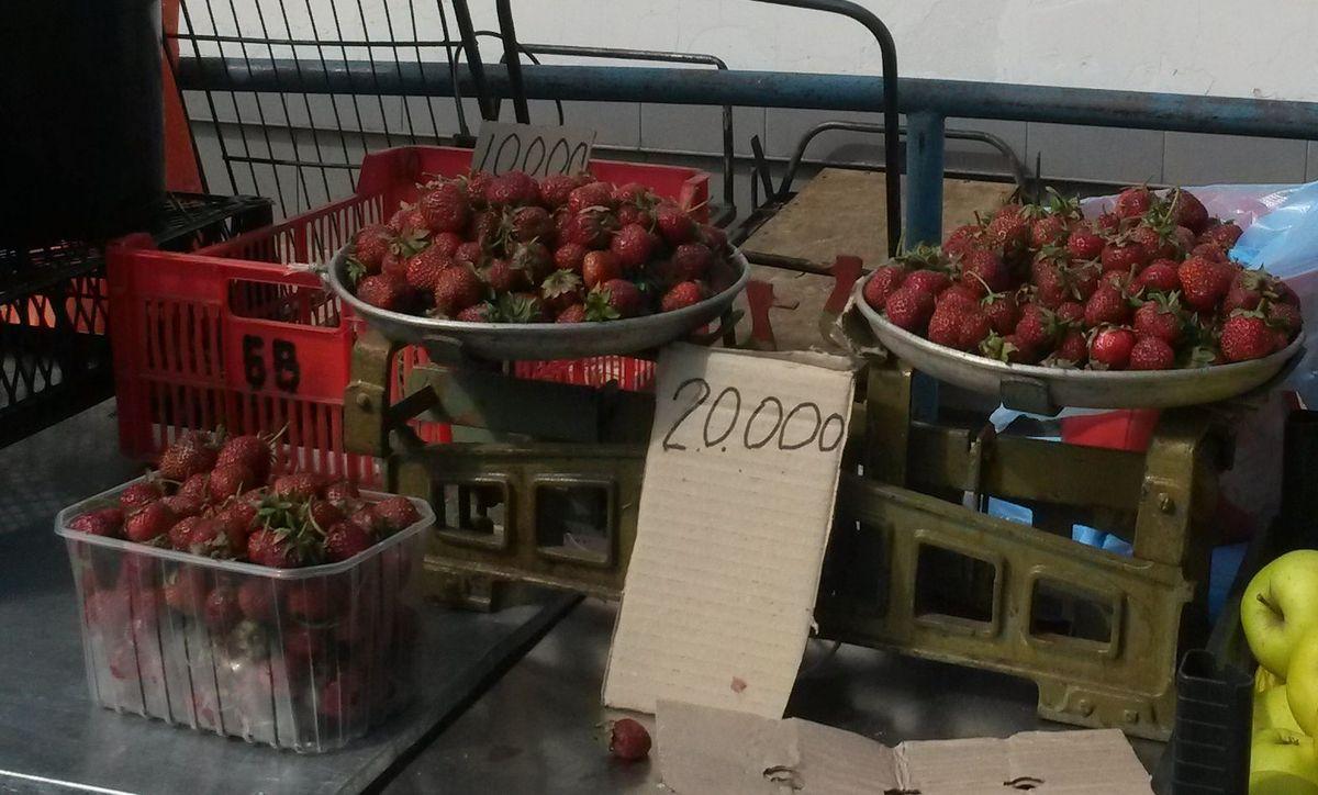Самая дешевая клубника 19 июня стоила 10 тысяч рублей за 1 кг.