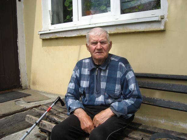 Іван Берташ падчас вайны ваяваў у пяхоце. Фота: Аляксей БЕЛЫ.