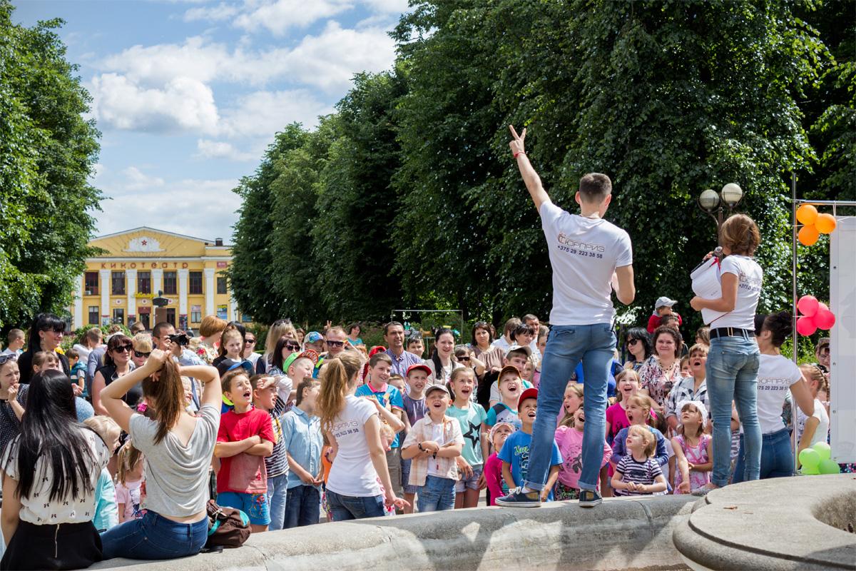 Конкурсы для детворы от организаторов фестиваля дворовых игр