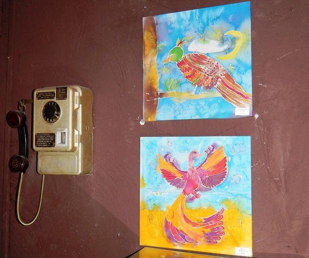 Работы Ксении Кондратчик ( 8 лет ) и Александры Прихач ( 8 лет ). Фото: Оксана МАРЦЫНКЕВИЧ