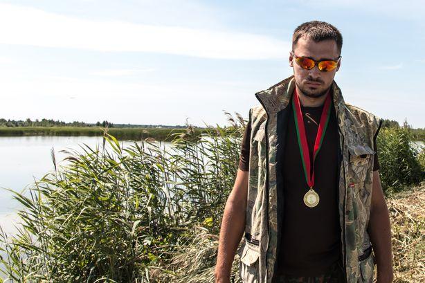Победитель соревнований Павел Богрий. Фото: Владимир Тимощик.