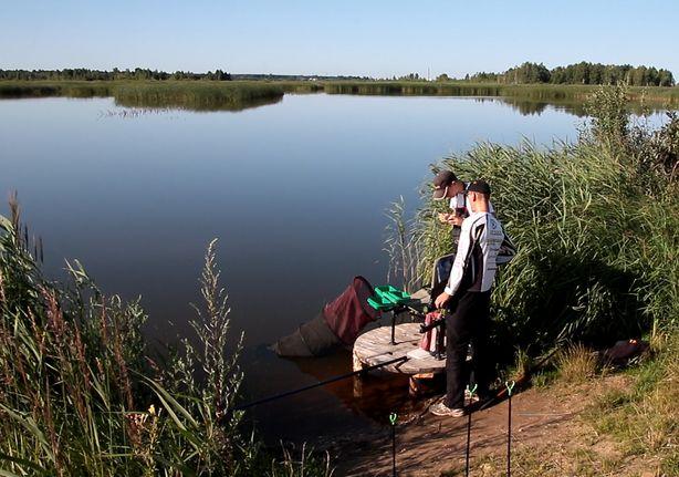Рыбу нужно было поймать за три отведенных часа. Фото:Владимир Тимощик.
