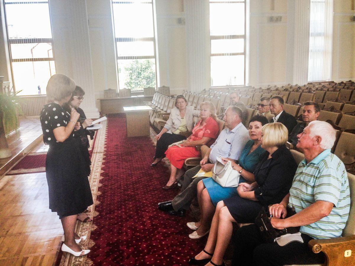 Первое заседание Барановичской городской избирательной комиссии по выборам президента. Фото: Виталий КУЗНЕЦОВ