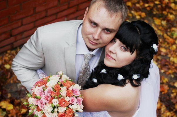 Анна с мужем. Фото со страницы ВКонтакте.