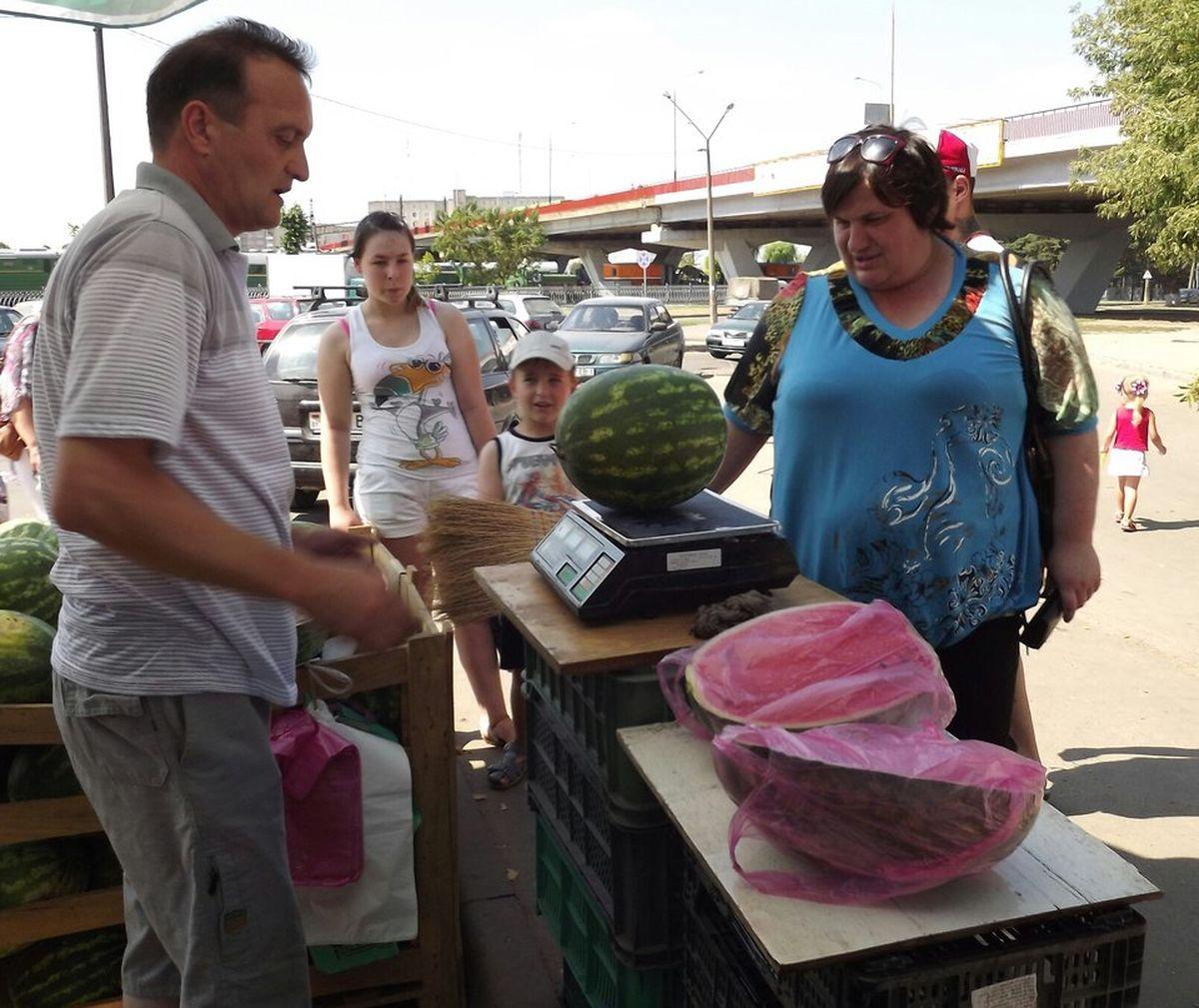 Продавец арбузов и дыней Абассум уверен, что арбузы-мальчики и арбузы-девочки не отличаются по вкусу