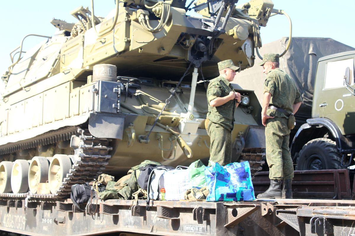 На полигон «Ашулук» военный эшелон отправится вечером 24 августа. Фото: Татьяна МАЛЕЖ