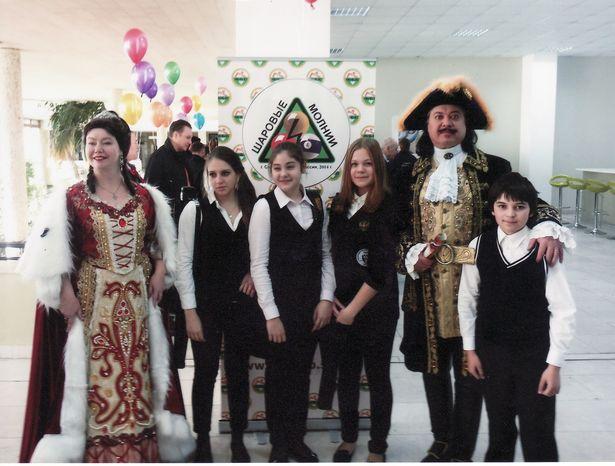 Эрик Голынкин на турнире в Санкт-Петербурге. Фото: архив семьи ГОЛЫНКИНЫХ.