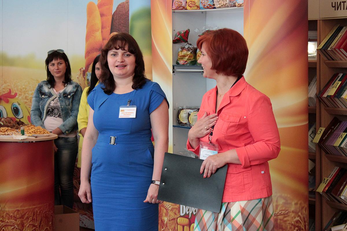 Анна Квашнина, заместитель директора Барановичского хлебозавода по коммерческим вопросам, рассказывает о новых видах хлебобулочных изделий.