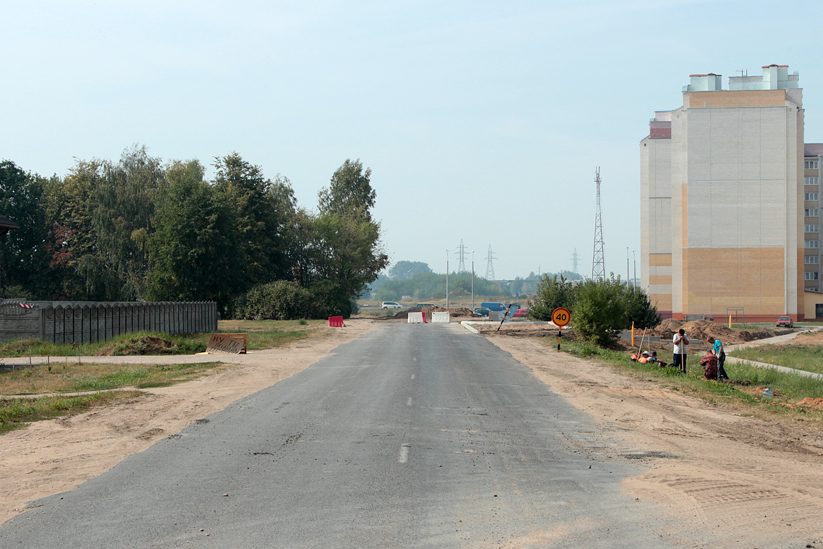 Улица Марфицкого и Журавлевича