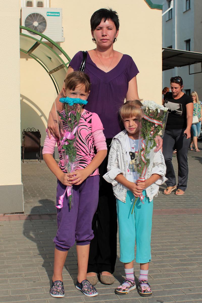 Татьяна с детьми