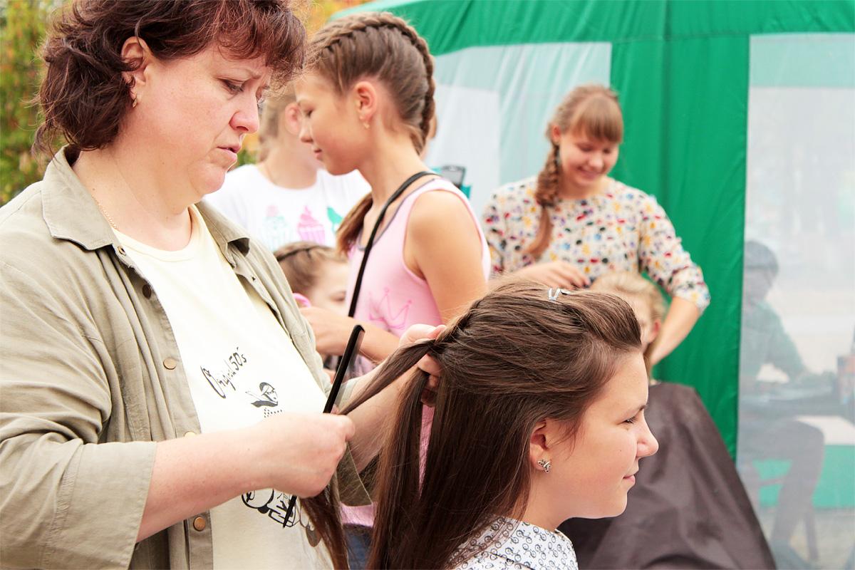 Мастер-класс по укладке волос