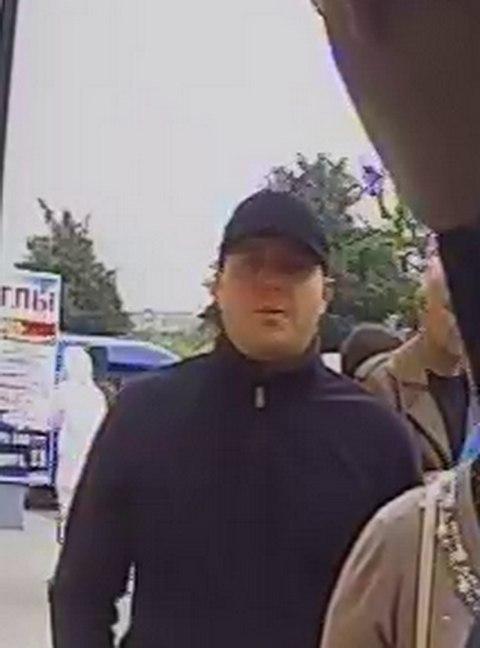 Предполагаемый похититель денег. Фото: предоставлено Барановичским ГОВД