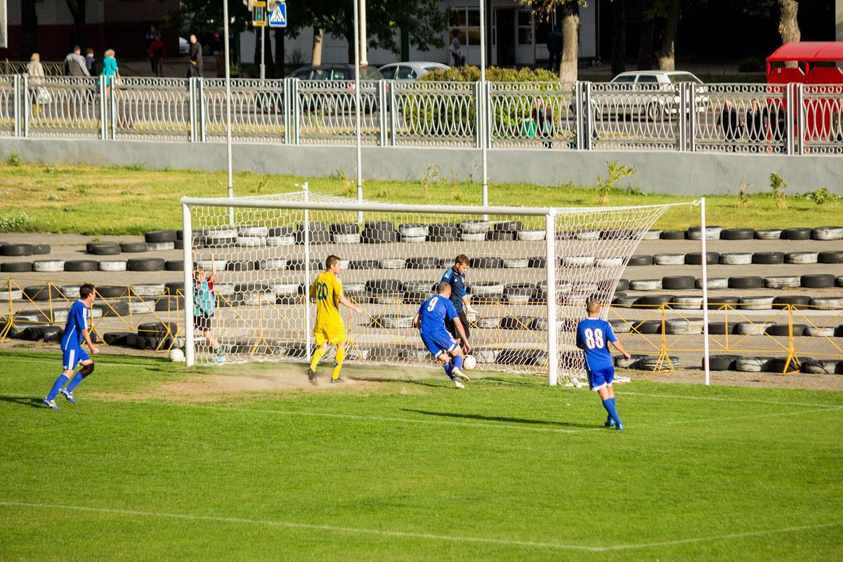 Гол в ворота ФК «Слоним»