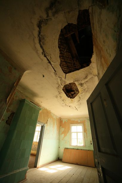Усадьбу не раз грабили и разрушали вандалы. Фото: Александр КОРОБ.