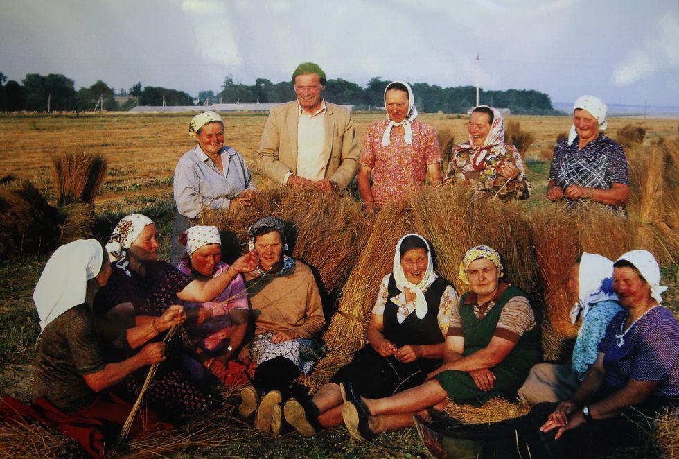 Генрих Третьяк проработал председателем колхоза 28 лет. Фото: Александр КОРОБ.