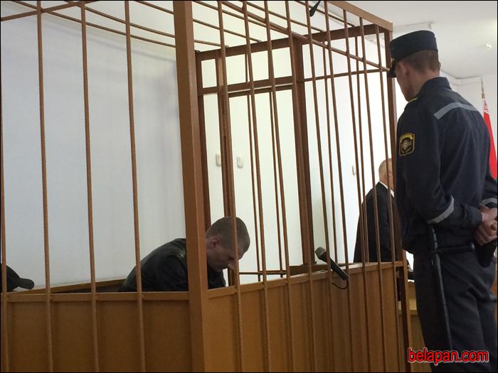 Обвиняемому Ивану Кулешу грозит наказание  вплоть до смертной казни. Фото: БелаПАН belapan.by