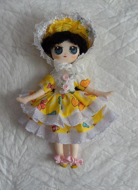 Текстильная кукла. Автор – Екатерина Пинаева. Фото из архива мастера.