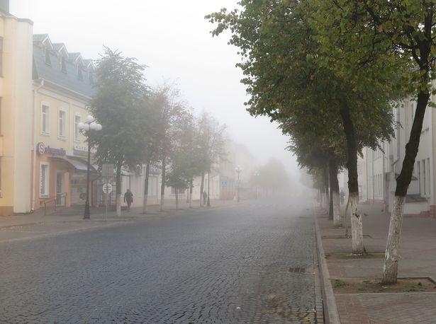 Город в тумане. Фото: Наталья СЕМЕНОВИЧ
