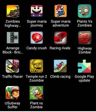 Зараженные объекты Google Play