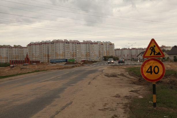 Улица Домейко открыта для движения транспорта. Фото: Александр КОРОБ.