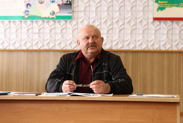 Председатель участковой комиссии №62 Владимир Мохнач. Фото: Александр КОРОБ