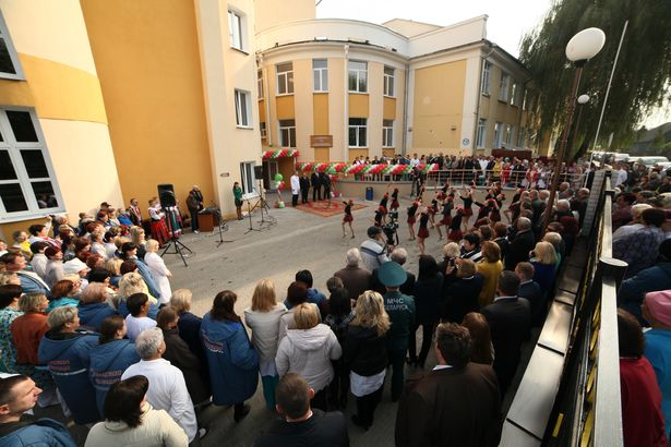 Открытие приемного покоя в городской больнице. Фото: Александр КОРОБ.