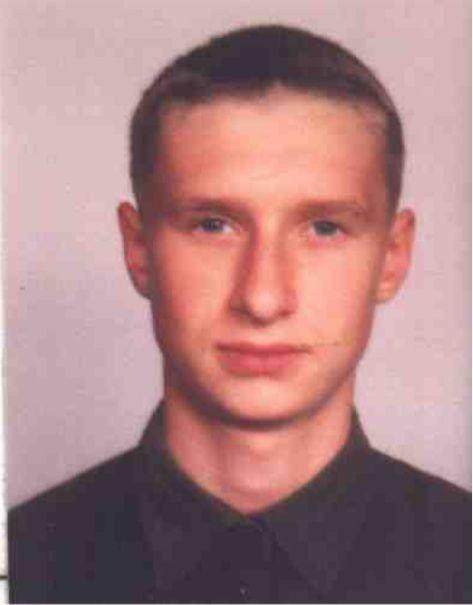 Фотография разыскиваемого. Фото 1999 года. Предоставлено Барановичским РОВД