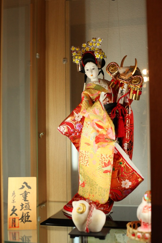 Куклы Японии. Фото: Александр КОРОБ.