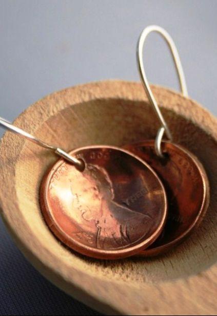 Серьги из монет. Фото с сайта vvvision.ru