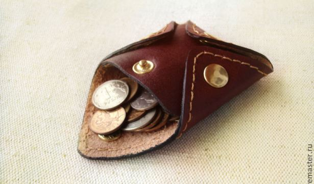 Кошелек-монетница. Фото с сайта uniqhand.ru