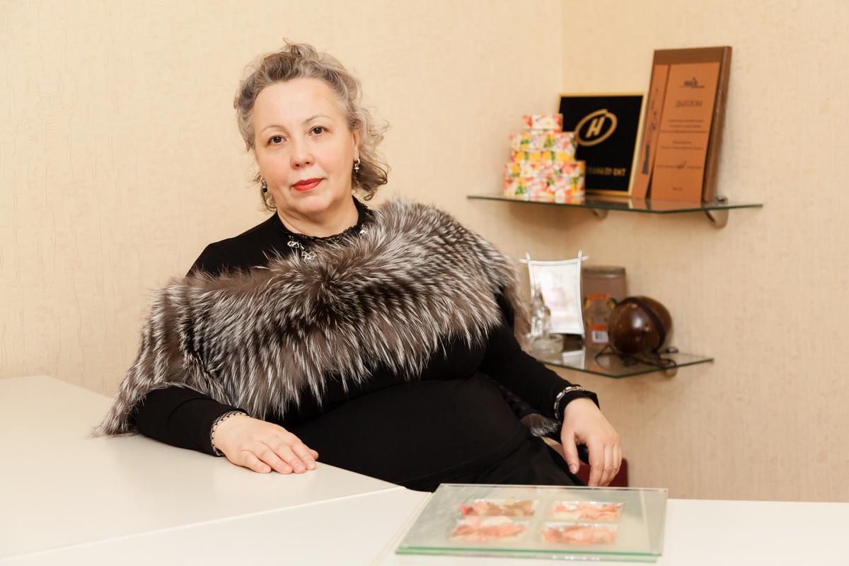 Ирина Лапченко – основатель бизнеса, ставшего своеобразным кулинарным брендом города Барановичи. Фото: Александр КОРОБ.