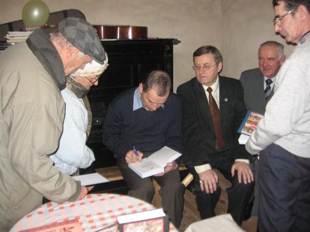 На сустрэчы з літаратарам Анатолем Тарасам, 2009 год