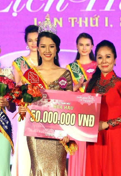 Победительница конкурса красоты. Фото с сайта congly.com.vn