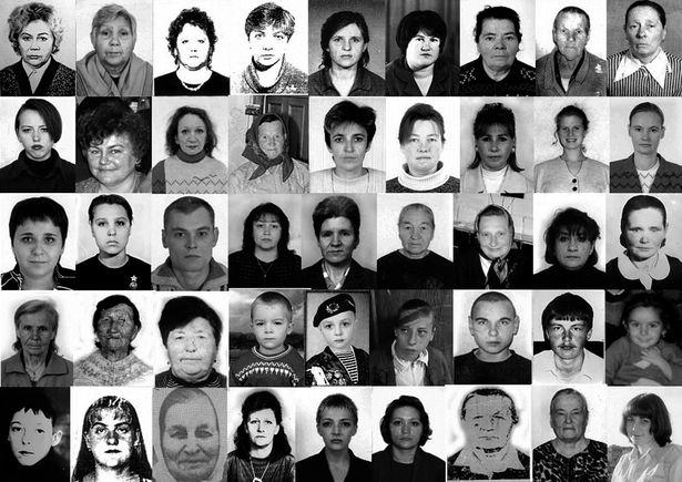 Коллаж из портретов людей, которые разыскиваются как без вести пропавшие. Снимки размещены на сайте УВД Брестского облисполкома.