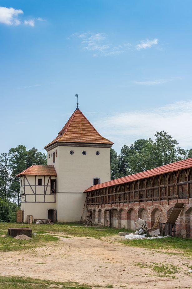 Любчанский замок (замок Кишек и Радзивиллов). Фото: Юрий ПИВОВАРЧИК