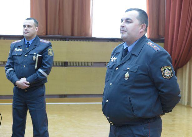 Сергей Житко и Андрей Волковыцкий (справа). Фото: Наталья СЕМЕНОВИЧ