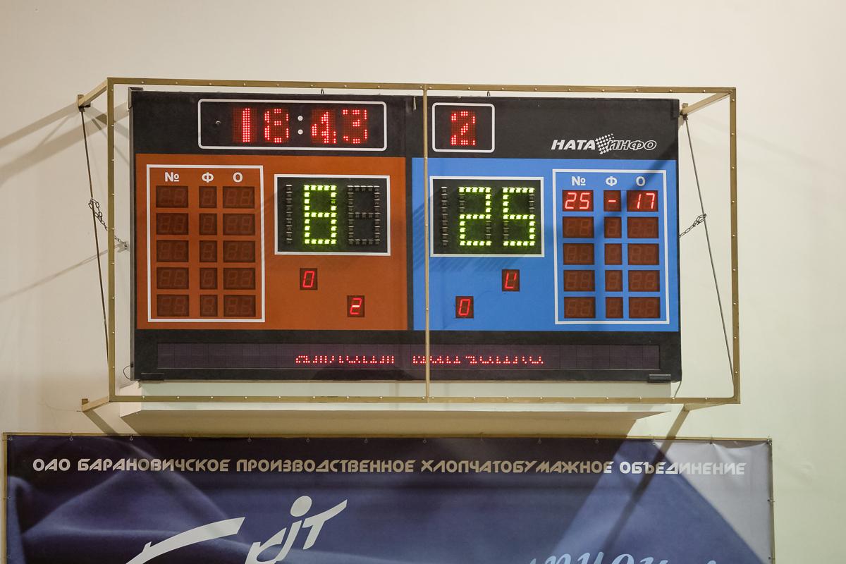 Матч Атлант - Минчанка. Второй сет закончился победой Минчанки. Фото: Александр Короб