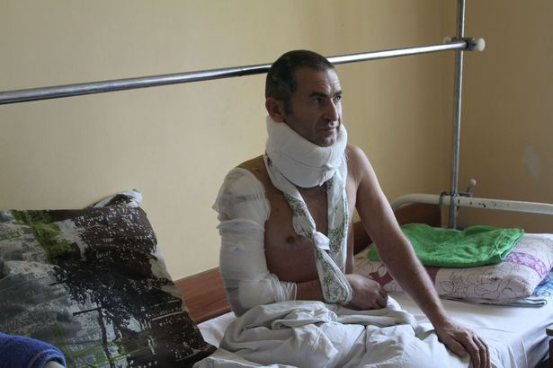 Александр Пауль находится в больнице после травмирования уже больше месяца. Фото: Татьяна МАЛЕЖ